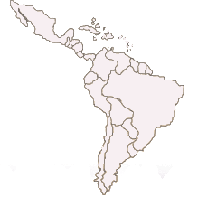 Karte Lateinamerika
