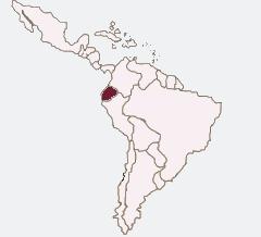 Karte Lateinamerika Ecuador spanisch lernen berlin